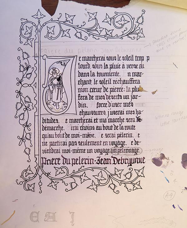 calligraphie enluminure_croquis